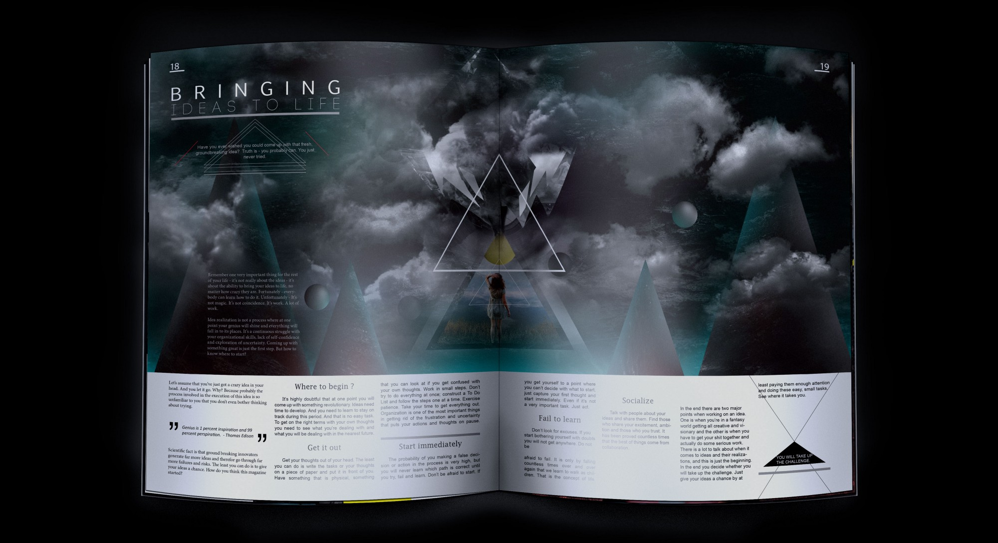 Source From 1st Issue TEKO Magazine / Project Design At Behance