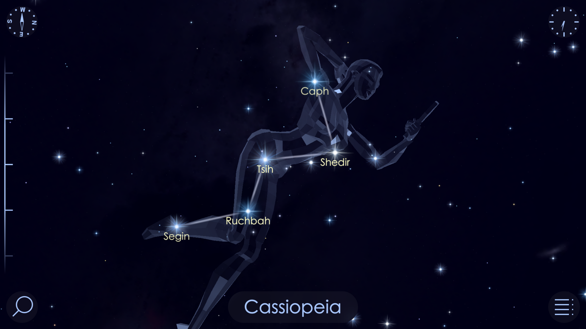 Cassiopeias W Delights Star Walk Medium