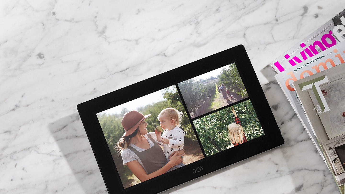 Digital frames paul bremer medium with a large 133 full hd touch screen joy showcases your photos and videos the way they were meant to be enjoyed in beautiful layouts that you can jeuxipadfo Gallery