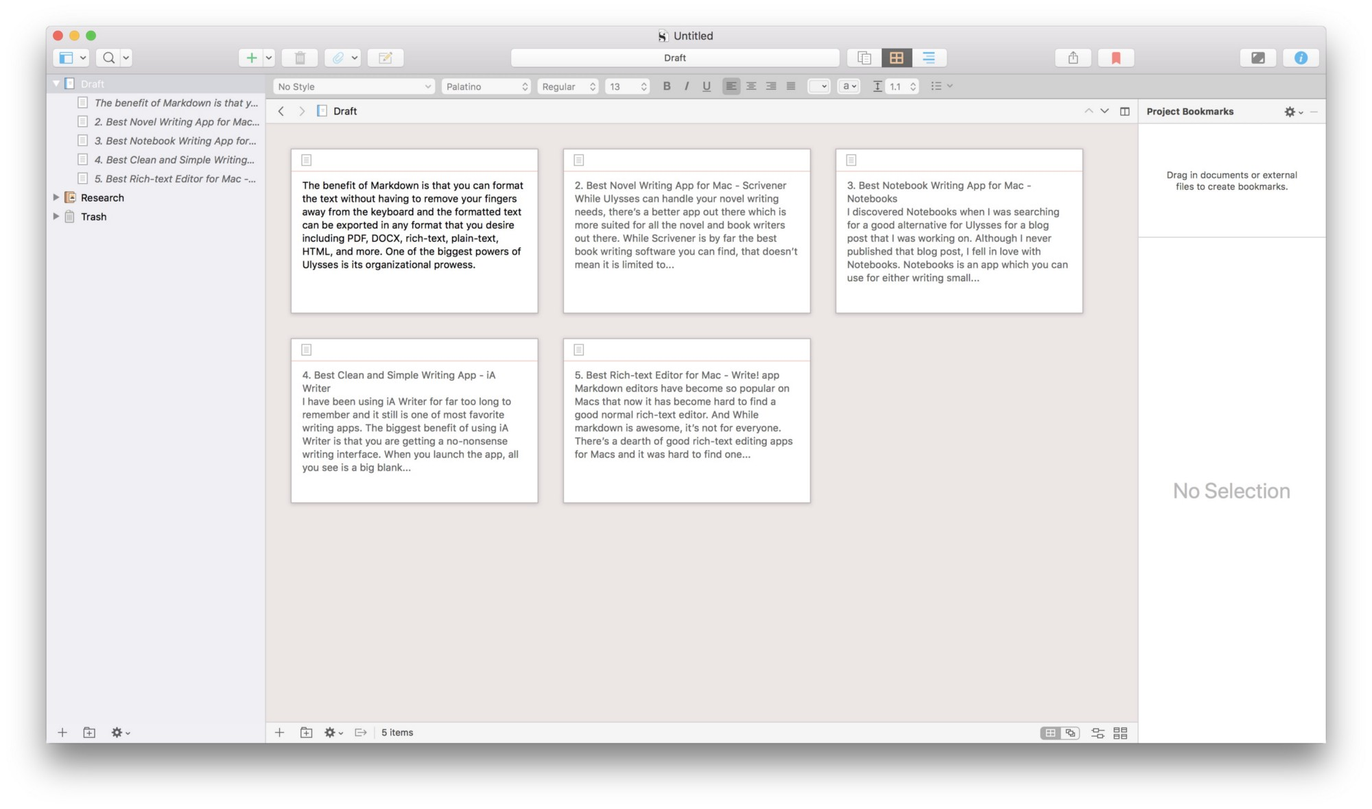 Best novel writing software for mac