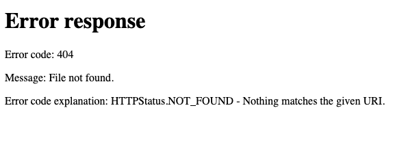 Another 404 page 😞