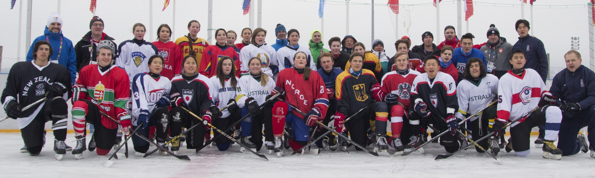 More than 20 nations played together in a friendly outdoor game at the  Youth Olympic Games in Lillehammer, Norway. (Vegard Anders Skorpen/ IOC  Young ...