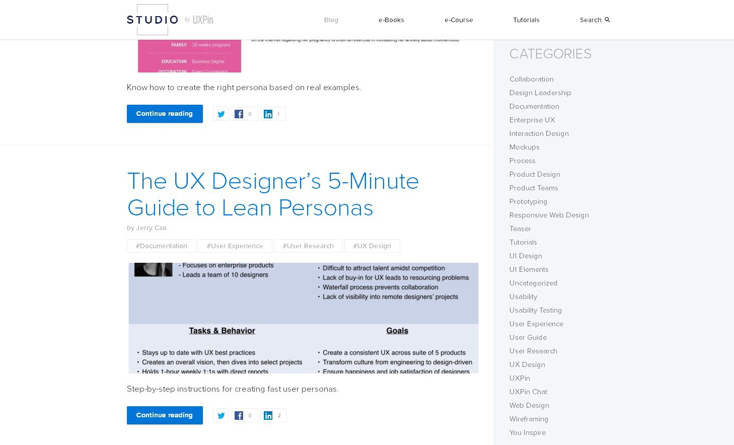 Found 5 products across 1 categories showing 1 5 products - Uxpin Is A Product Design Platform Used By Web Designers Their Blog Focuses On All Things Ux Regardless Of The Platform Used It Contains Tons Of Articles