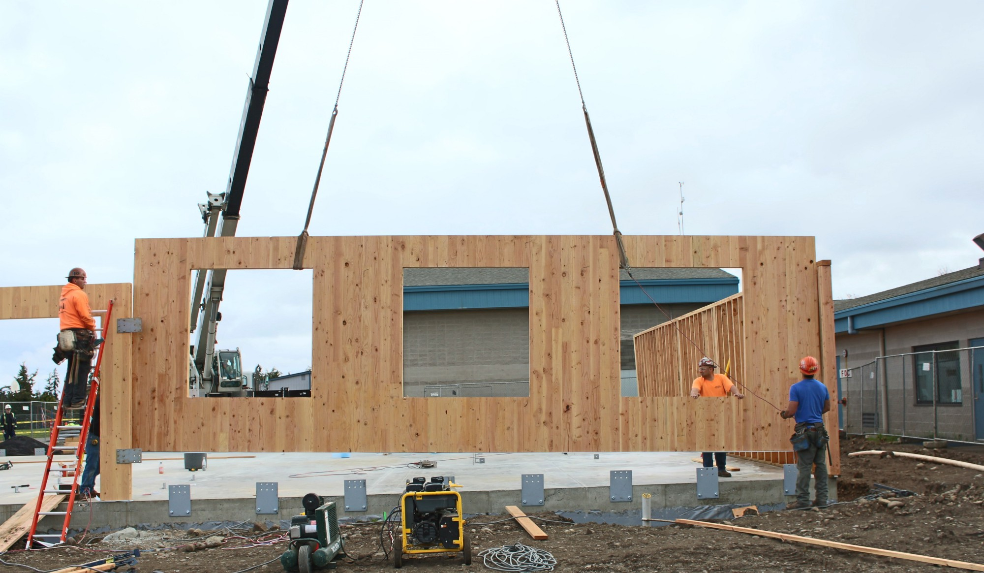 New timber product helps schools manage crowding class size