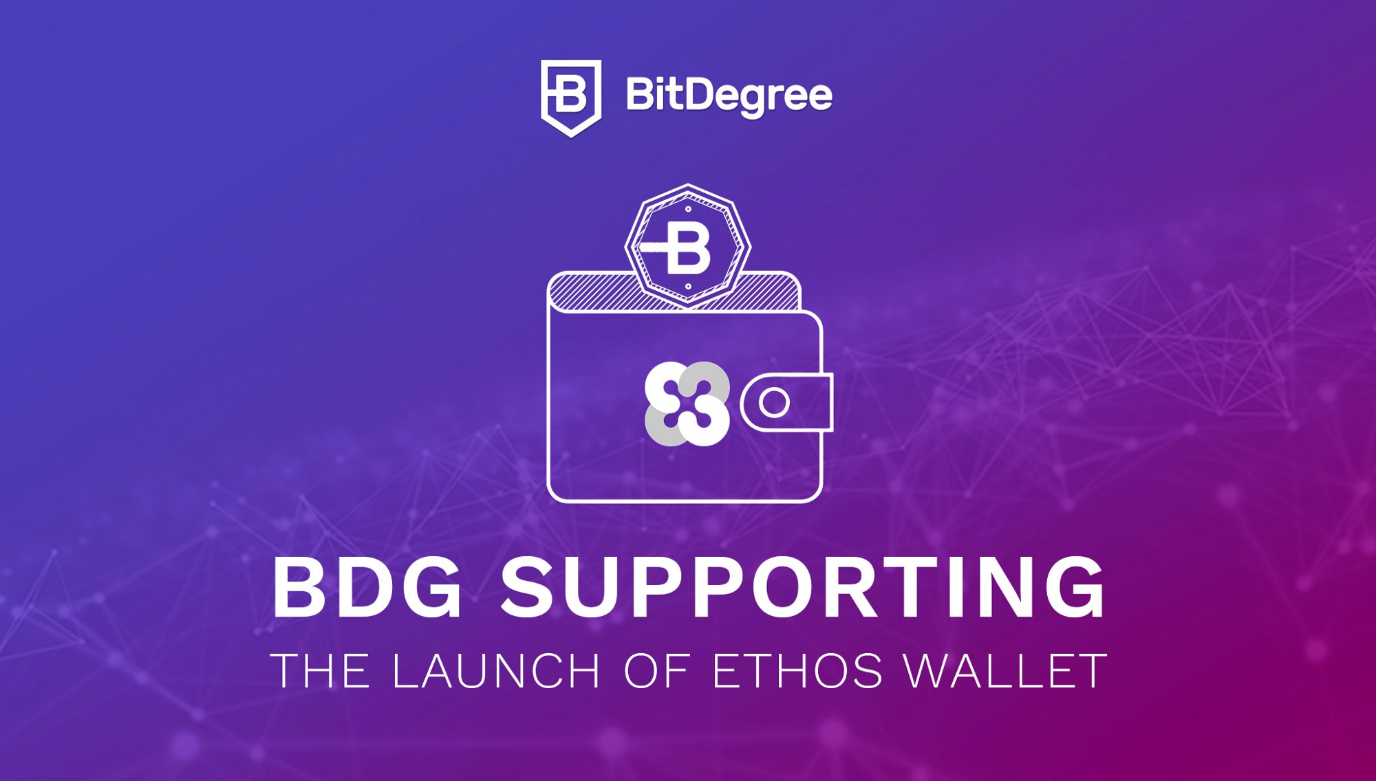 BitDegree is an Official Ethos Community Airdrop Partner