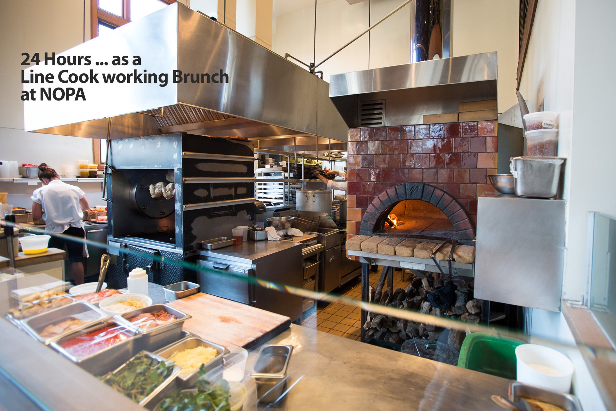 24 hours as a line cook working brunch at nopa sf cooking medium