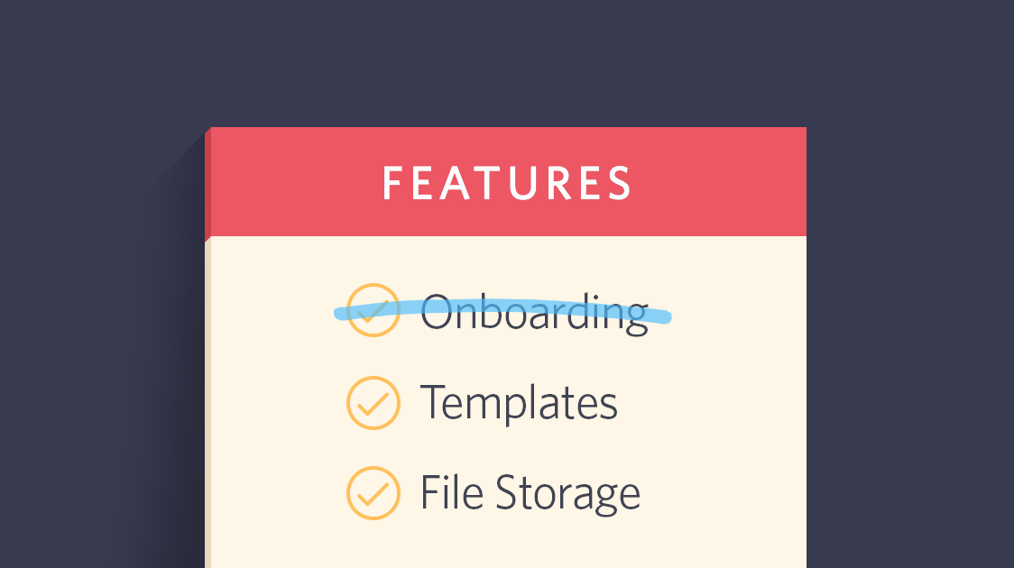 User Onboarding Isn't a Feature