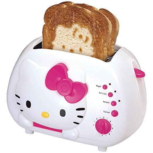 *Yes, the Hello Kitty toaster is a very real thing*