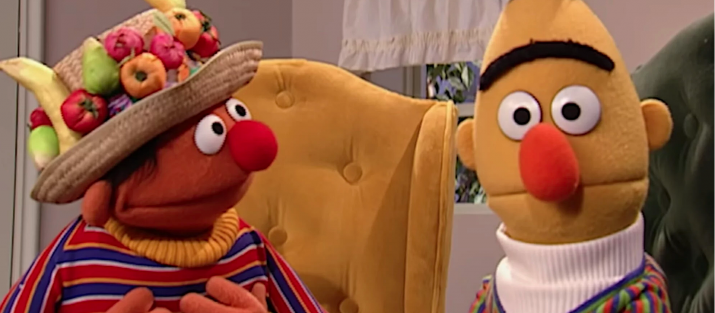 Bert and ernie sex talk