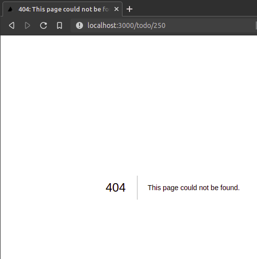 Throwing an error on an unsupported page