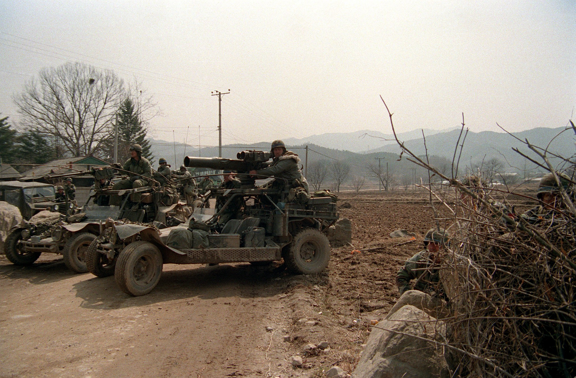 Military Sand Rail : The u s army had a whole battalion of armed dune buggies