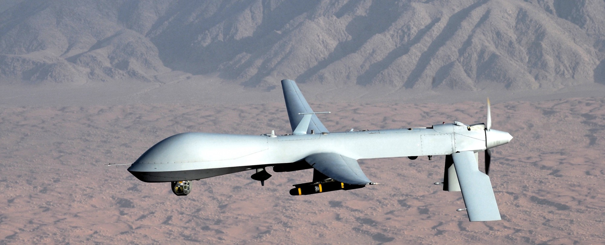 A Predator Drone Sometimes Used In Targeted Killings US Air Force Photo Lt Col Leslie Pratt Source Wikipedia