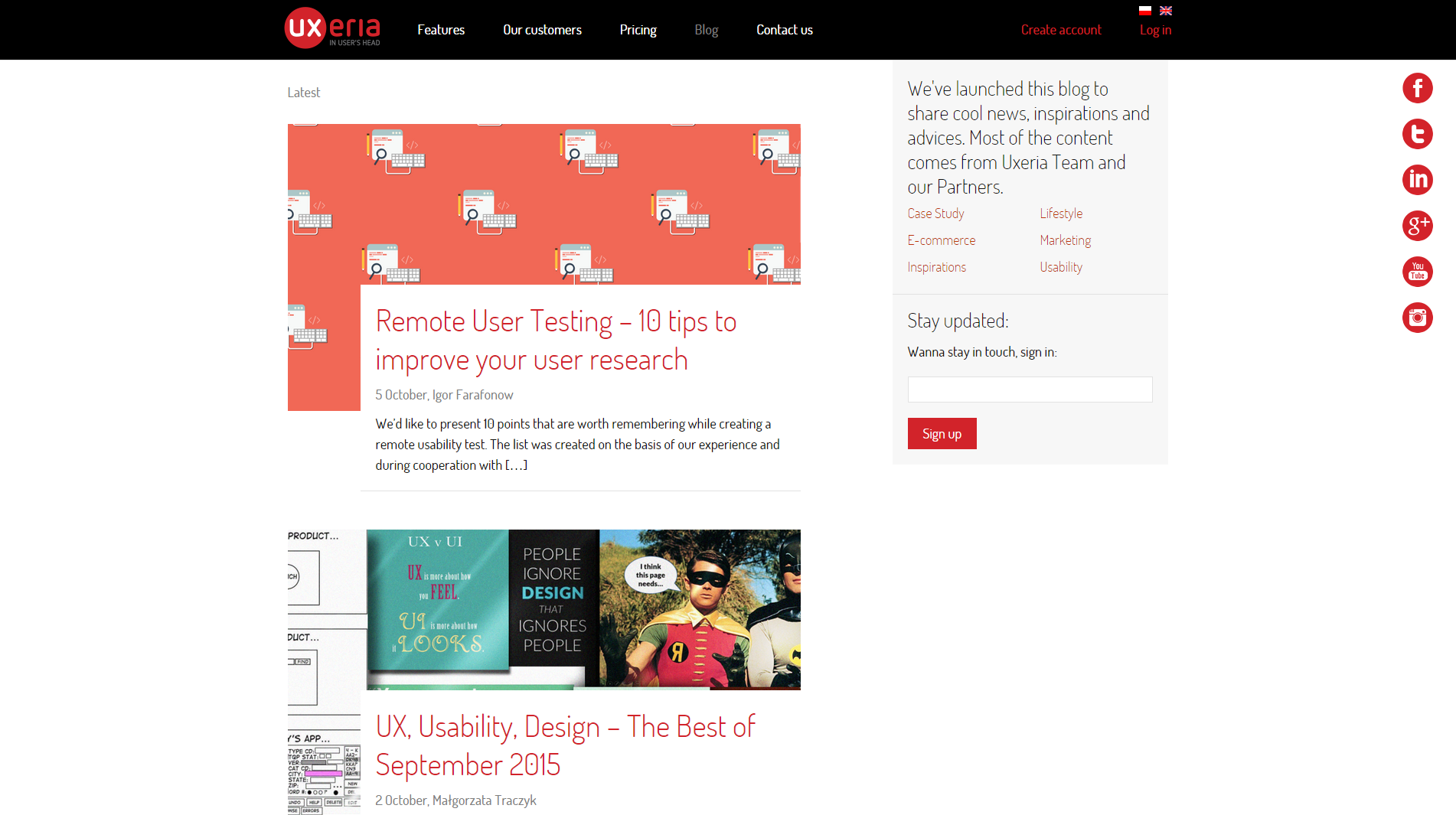 User experience design best sources to learn ux prototypr uxeria screenshot fandeluxe Gallery