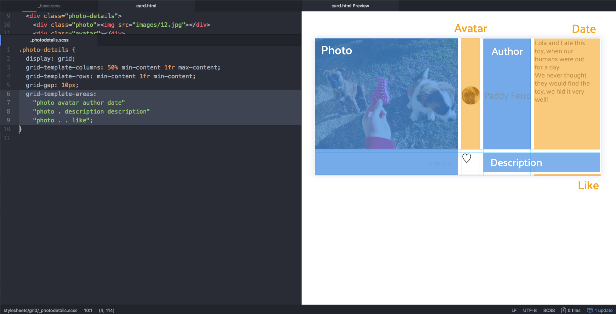 Css Grid Responsive Layouts And Components Deemaze Writing Wall