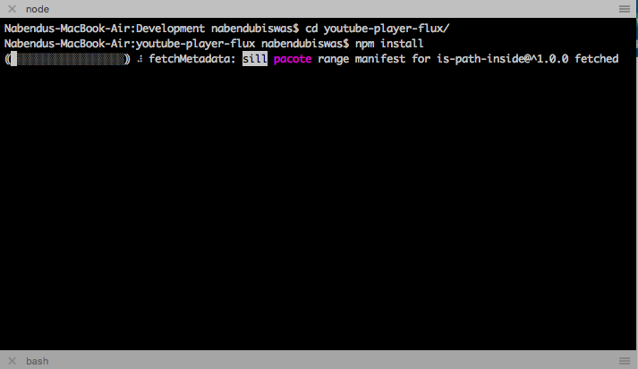 cd to directory and npm install, then npm start