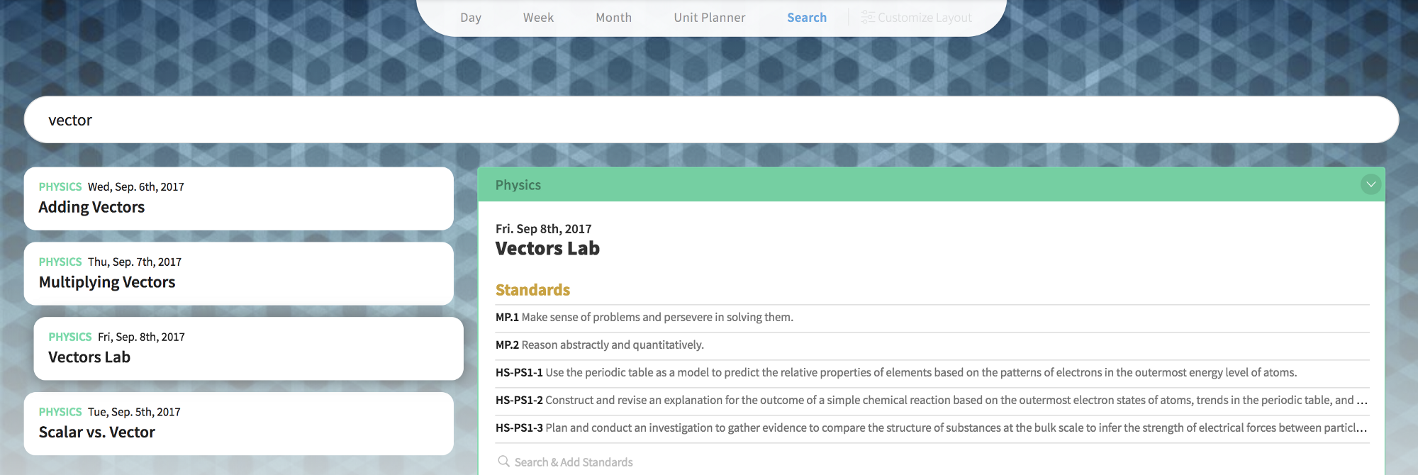 New Feature Alert Search Lesson Plans Common Curriculum