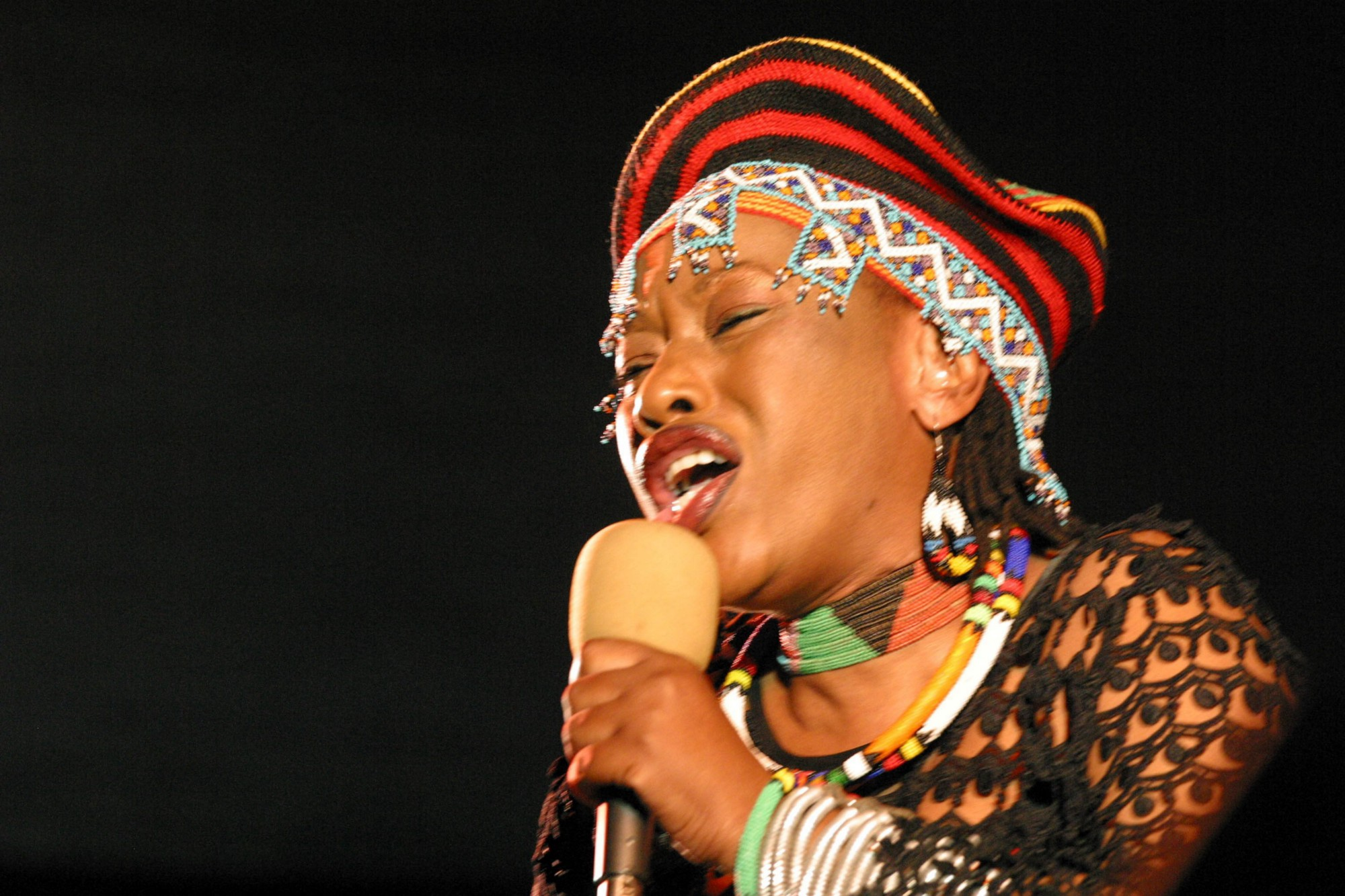 Calling down fire A love letter to Busi Mhlongo