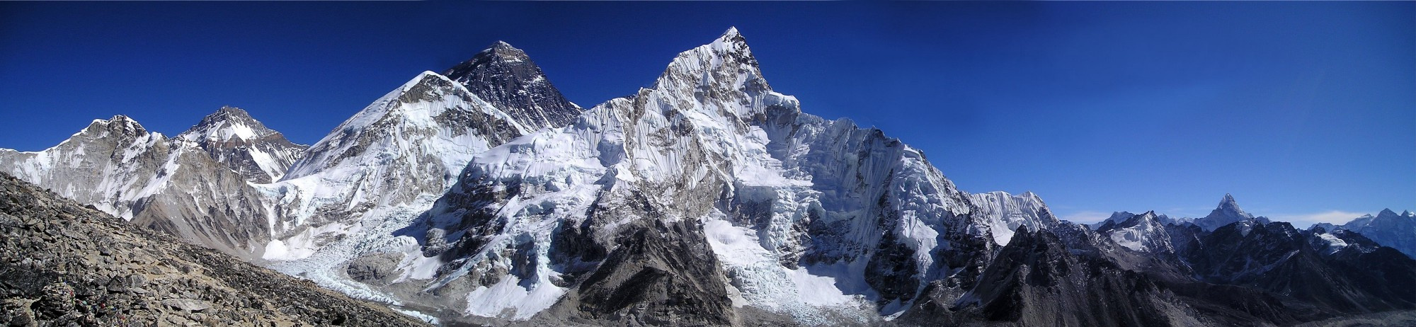 %name Spy Satellites Show the Himalayas' Shrinking Glaciers