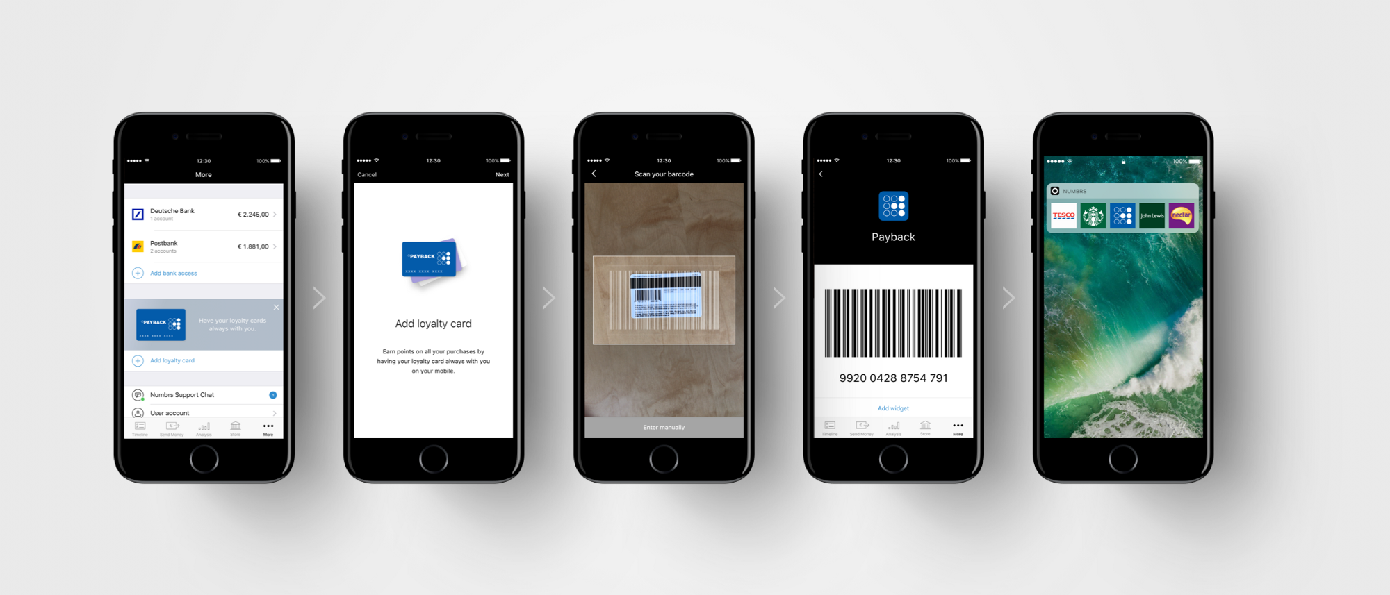 All cards on one card - All Your Loyalty Cards In A Single App No More Plastic Cards Thanks To Numbrs