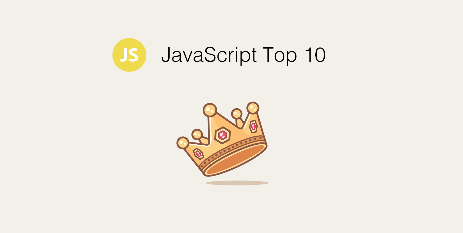 JavaScript Monthly Top 10 for the Past Month