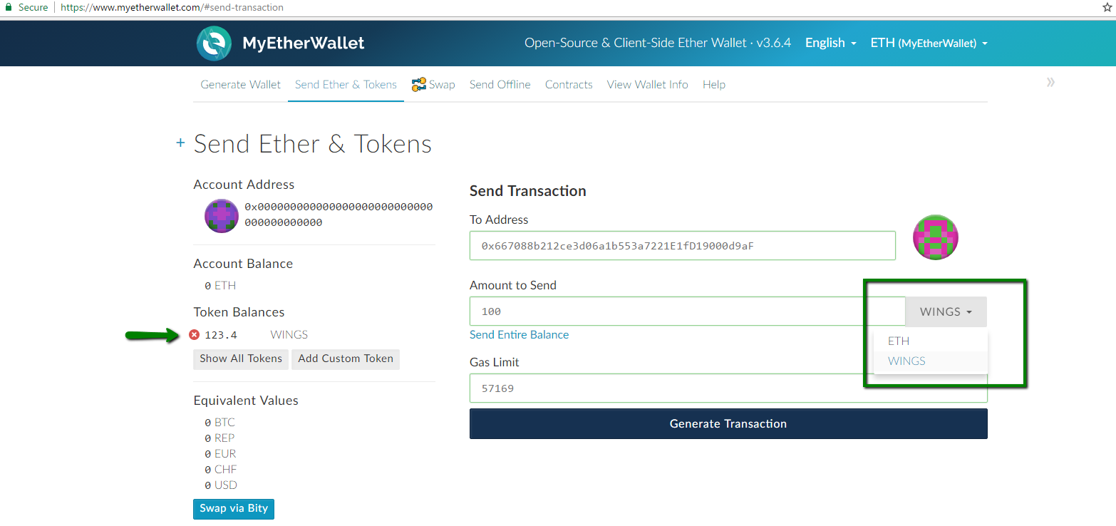 how to clear transaction my ether wallet