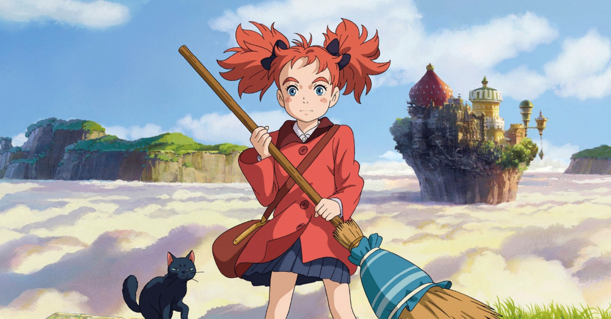 Review Mary And The Witchs Flower Is A Charming Fairytale Anime
