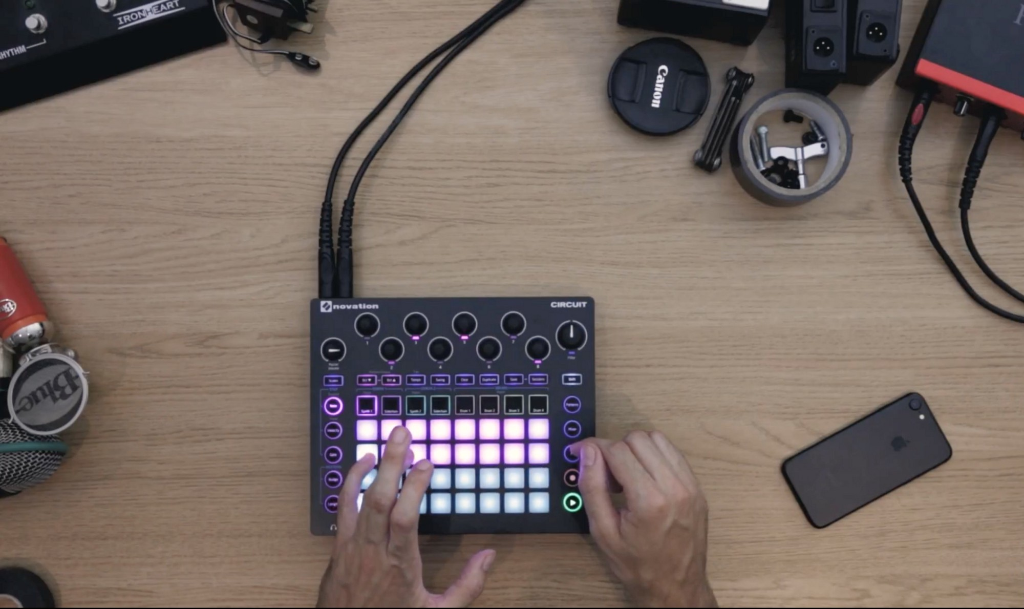 Going Solo With Novation Circuit Notes Medium How Do You Make A This Performance Is Very Sample Heavy And There Are Several Tricks Ive Used To The Most Of Circuits Potential He Says