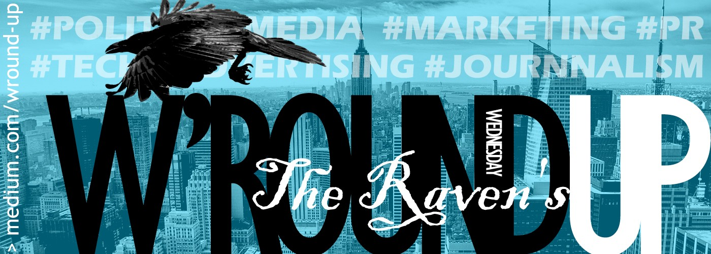 The Raven: Marketing, Media, Tech & Start-up W'round-up | 7 September 2017