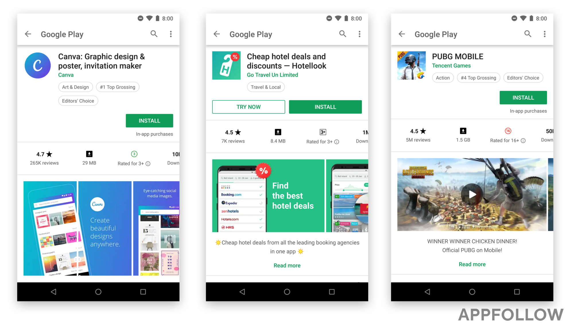 google play store biggest redesign is it aso friendly