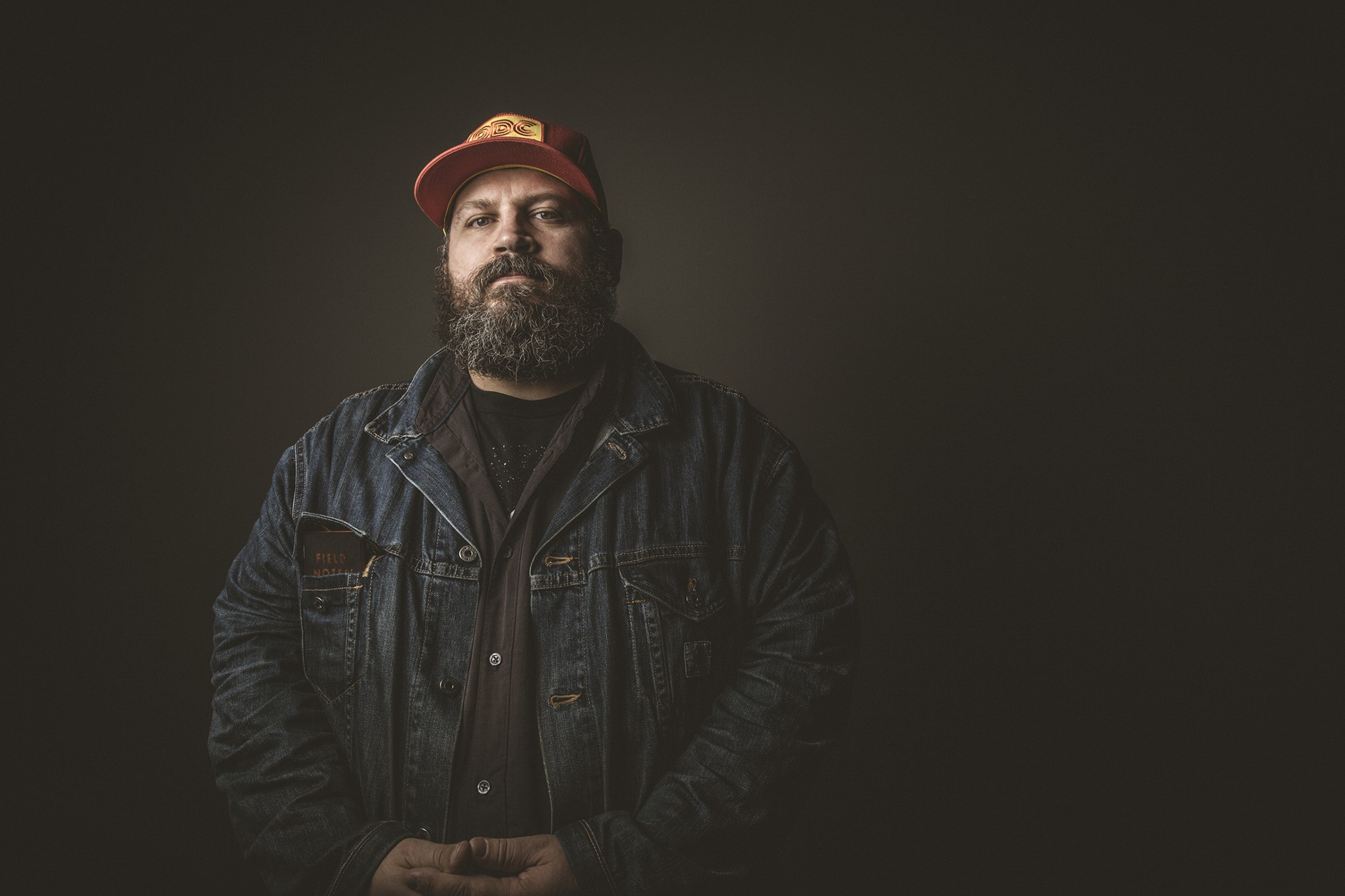 meet aaron james draplin thick line maker at ddc and creator of field notes. Black Bedroom Furniture Sets. Home Design Ideas