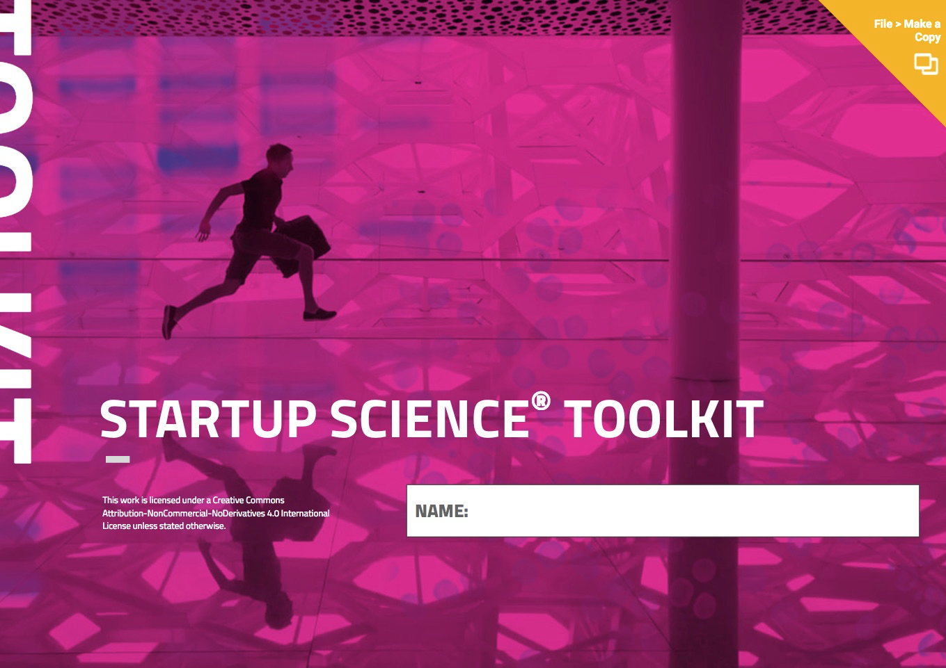 Startup Science Toolkit — 70+ Pages of Startup Building Templates