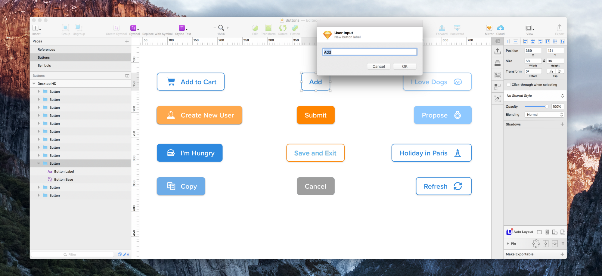 More Flexibility With Buttons In Sketch Design Sketch Medium
