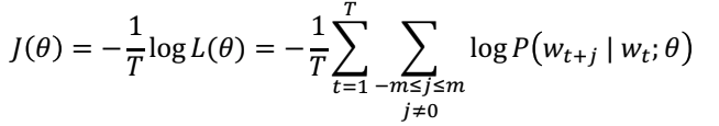 Word vector equation from Stanford tutorial [https://youtu.be/8rXD5-xhemo](https://youtu.be/8rXD5-xhemo)