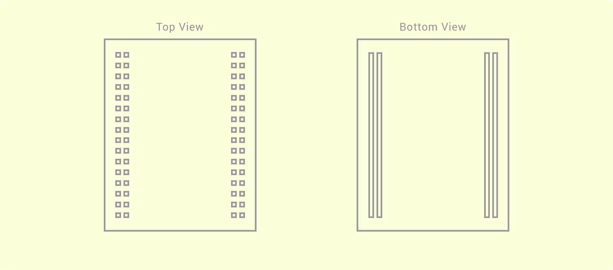 Android Things Electronics 101 Exploring Medium The Illustration Below Involving Two Resistors In A Parallel Circuit Youll See From Diagram That This Looks Very Similar To Horizontal Strips Under Hood