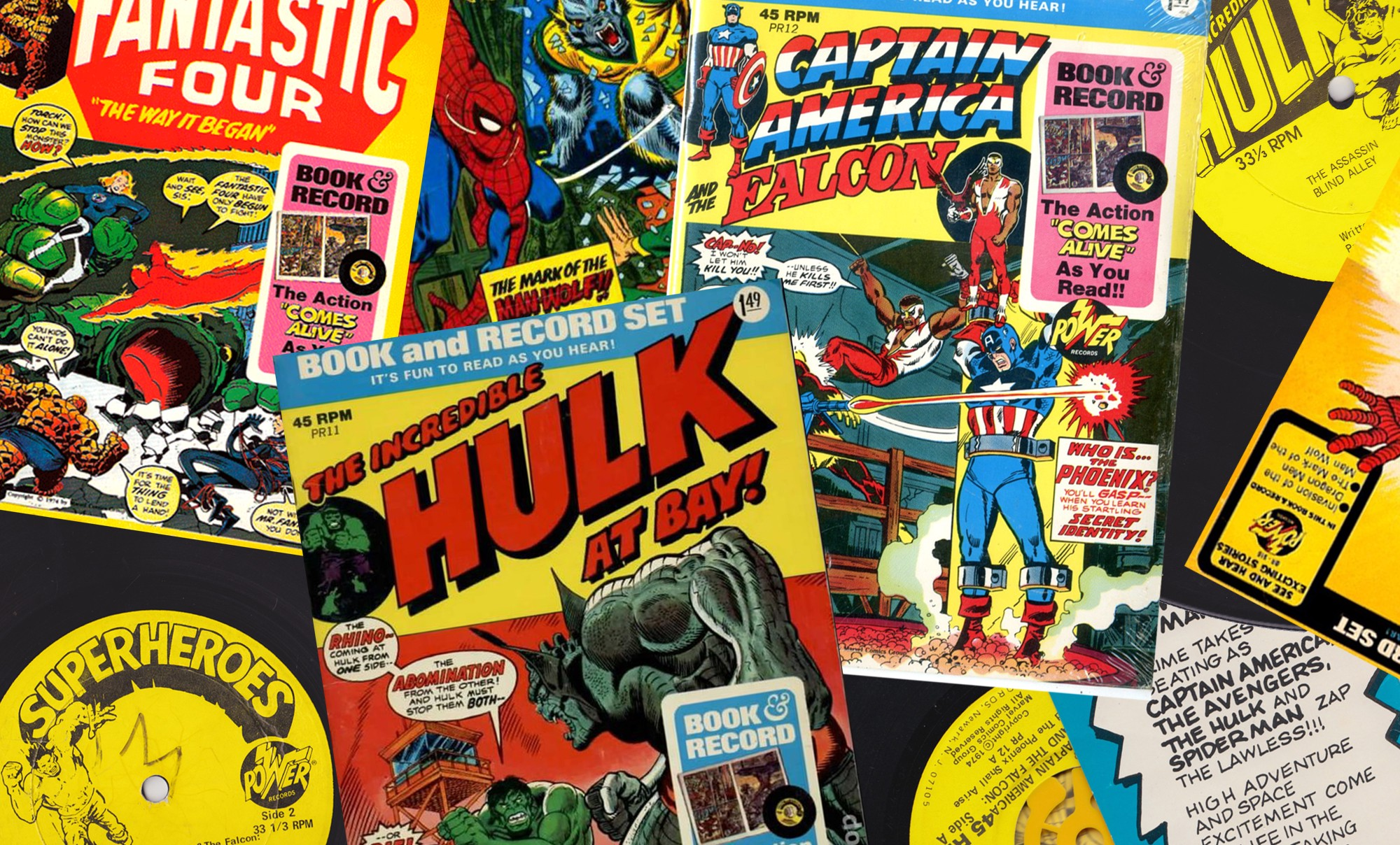 The avengers age of analog the power records story fandeluxe Image collections