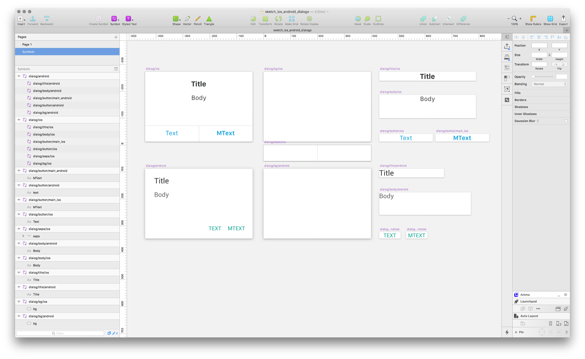 Using sketch symbols to quickly swap between different os designs make each item a symbol use folders to keep everything organised and structured i used the pattern dialogdevice and dialogobjectdevice buycottarizona