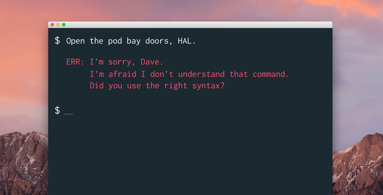 What is the command line 84