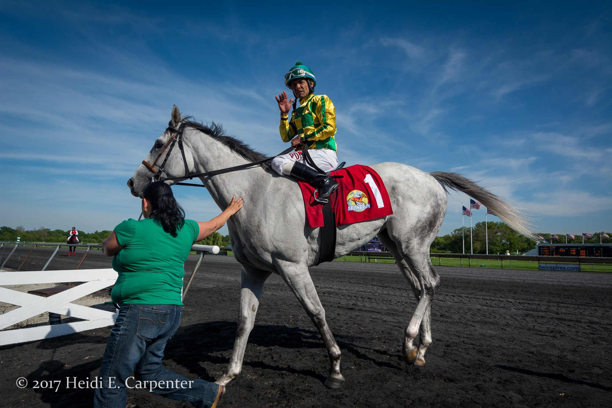 Arlington Classic Day in Photos: Cowboy Culture Earns First Stakes Win