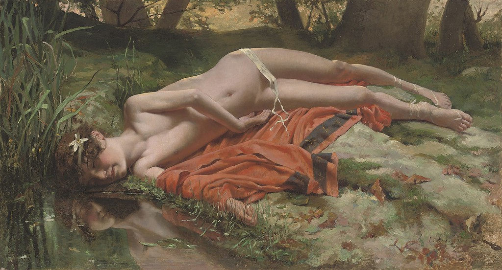 the lack of inward love as a cause of narcissism portrayed through the story of narcissus in thomas