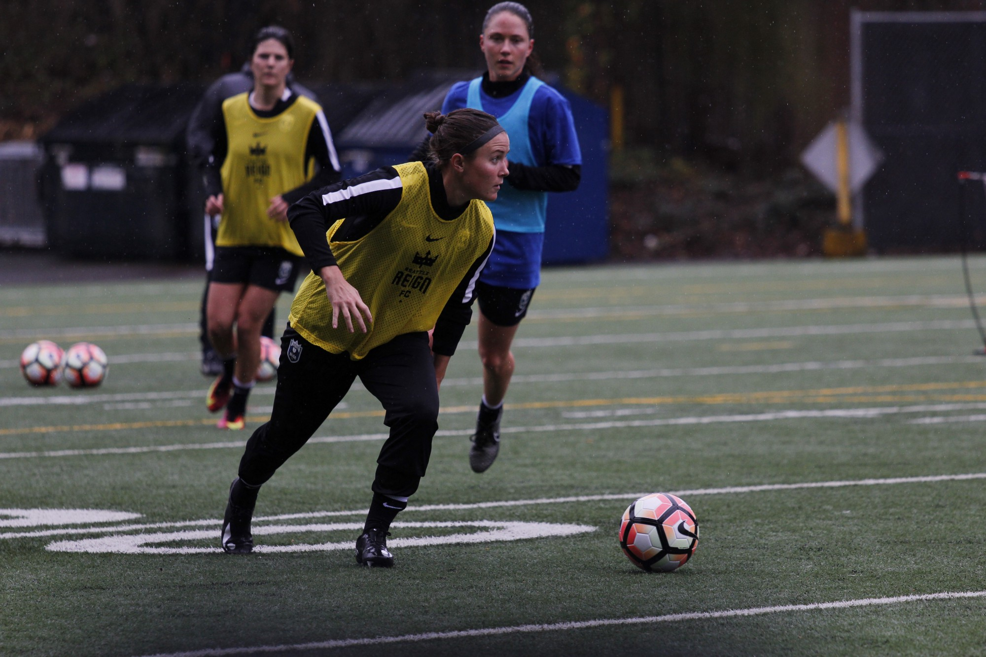 photo essay preseason training camp seattle reign fc
