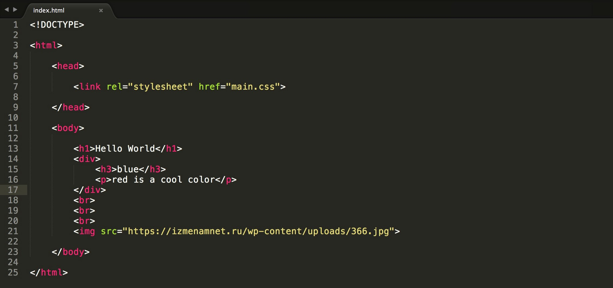 How to style your website with css codeburst - Div tag properties ...