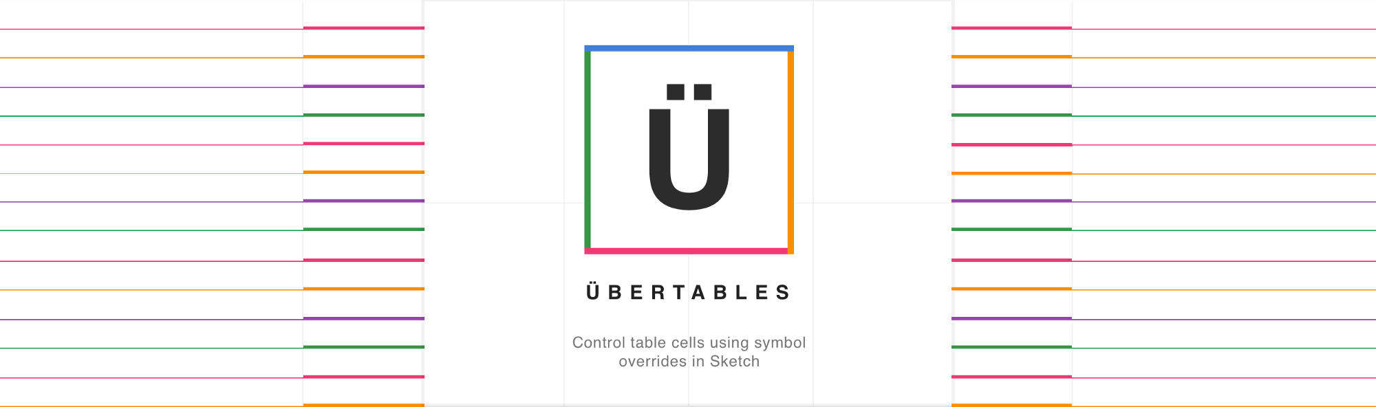 Use symbol overrides to control borders in sketch with ber tables this header was created using uber table master cells with symbol overrides buycottarizona