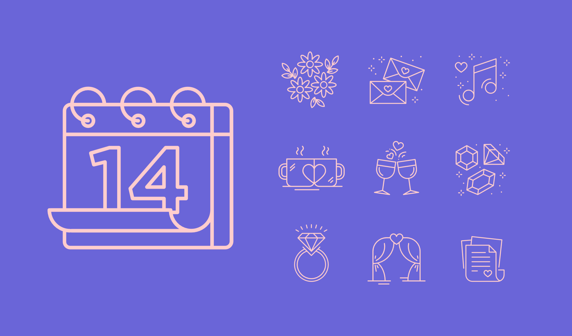 14 Free And Premium Icon Sets For Valentine S Day The Iconfinder Blog