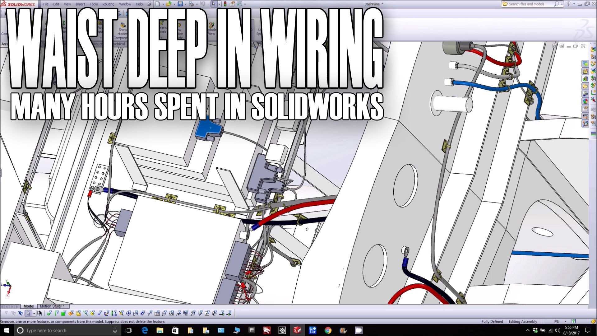 Waist Deep In Wiring Peter Muller Medium System Definition Working On The Layout Of And Other Systems Solidworks