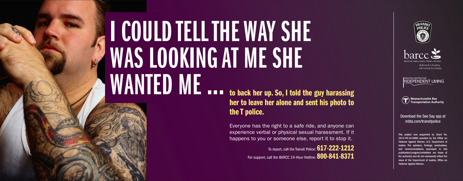 Anti sexual harassment campaign