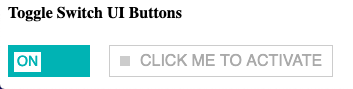 Clickable toggle button
