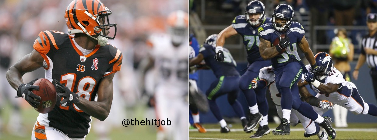 He said / she said — Seattle Seahawks at Cincinnati Bengals | Julian Rogers | The Hit Job
