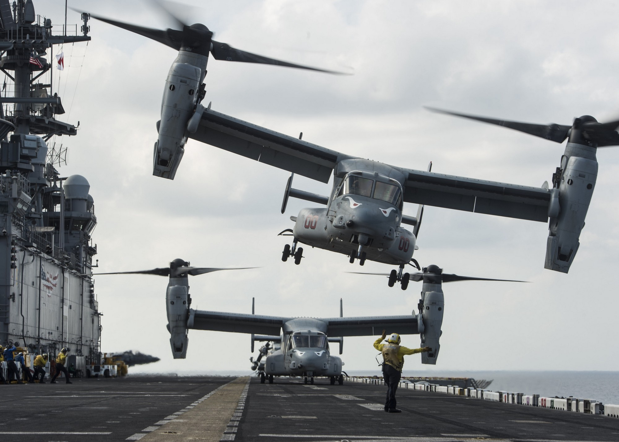 This Is How the U.S. Navy's CMV-22 Got Its Odd Name