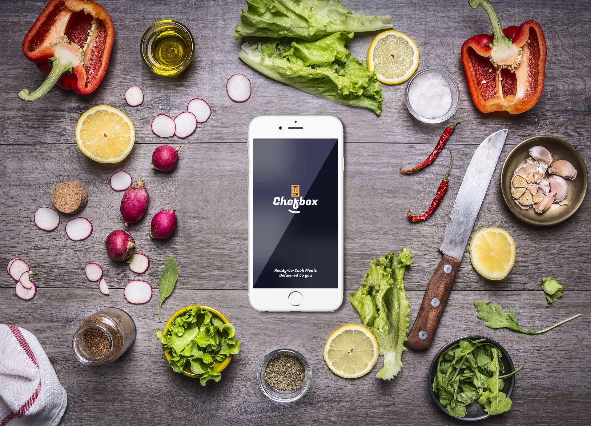 Chefbox app user experience design retrospective muzli design chefbox app is a mobile application concept that combines online groceries delivery with recipes users can place an order for ready to cook meal boxes forumfinder Gallery