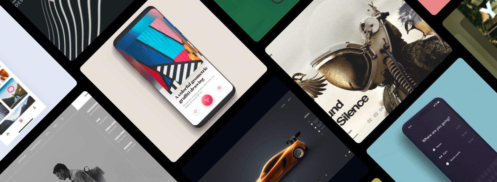 Navigation app, AR picture, Transition effects and more… Weekly interactions roundup! by @usemuzli https://t.co/CbkV15nT9R